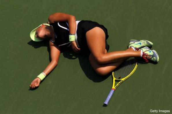 victoria azarenka collapses on court
