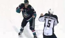 Frozen Fisticuffs Fight Of The Night – A Two-Round Bout From The WHL – 10/20/10