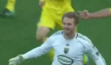 Columbus Crew Goaltender Scores A Stoppage Time Goal (Video)