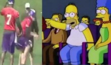 "Hans Moleman Productions Presents ""Brett Favre Getting Hit By Football"" (Video)"