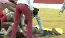 Female Bullfighter Messes With The Bull…Gets The Horns (Video)