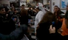 Giants Fans Brawl Inside McDonalds (Video)