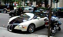 Guy Test-Driving $1.6 Million Bugatti Veyron Backs Into A Toyota (Video)