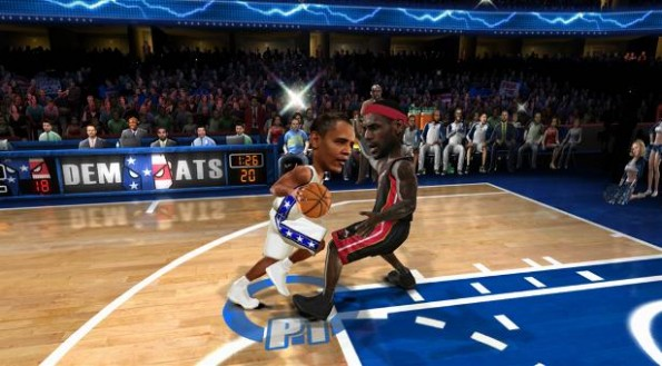 Obama crossover NBA Jam