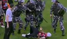 Pitch Invader Tased After Attempting To Attack Officials (Video)