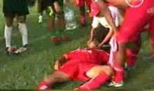 Soccer Coach Drugs Opposing Players In An Effort To Win The Game (Video)