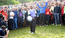 Tiger Woods' Ball Is Heading For Your Living Room (Pic)