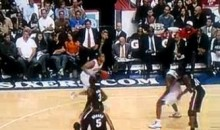 Did Evan Turner Just Break Dwyane Wade's Ankles? (Video)