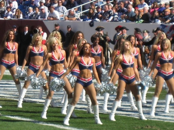 pats cheerleaders
