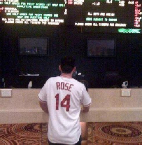 pete rose jersey at the sportsbook
