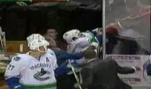 Canucks Rick Rypien Attacks A Fan (Video)