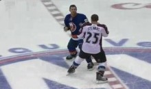 Frozen Fisticuffs Fight Of The Night – Chris Stewart Can Do More Than Just Score – 10/16/10