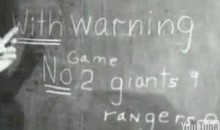1950s Civil Defense Movie Predicts World Series Game 2 Score (Video)
