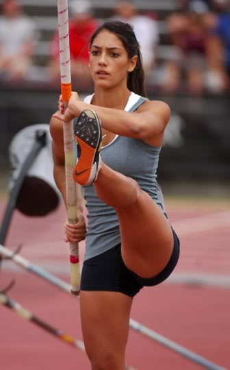 Allison Stokke – Pole Vaulting