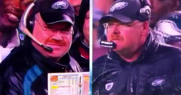 Andy Reid look-alike