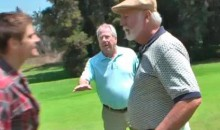 Burrita Wreaks Havoc On The Golf Course (Video)