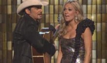 Carrie Underwood And Brad Paisley Sing A Song About Brett Favre And Tiger Woods' Infidelity At CMA Awards (Video)