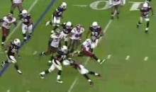 Check Out LeGarrette Blount's Hurdle, 50-Yard Dash (Video)