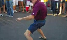 Creepy ASU Tailgating Grandpa Is Back! (Video)