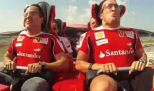It Doesn't Get Much Faster Than A Ferrari Roller Coaster (Video)