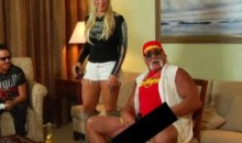 "Hulk Hogan Flashes His Junk While Playing ""Def Jam Rapstar"" (SFW Video)"