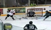 Ice Dogs' Ryan Strome Scores A Dandy (Video)