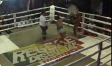 Are Garbage Cans Allowed In Muay Thai (Video)