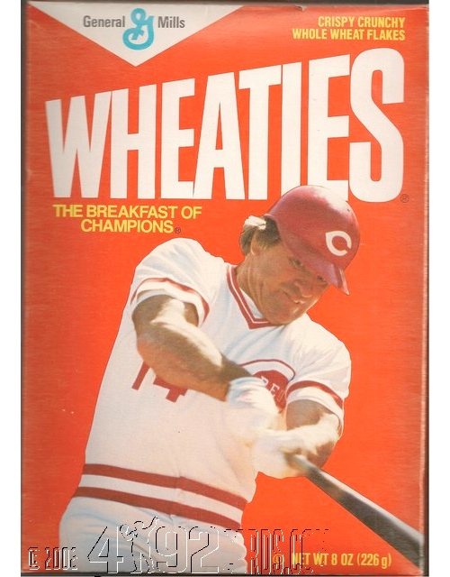 Pete Rose Wheaties