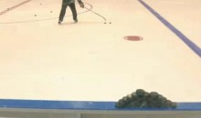 Sidney Crosby's Amazing Puck-Pyramid Trick (Video)