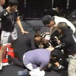 Takeo Shiina Knocks Out Opponent And Ref