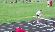The Greatest 100 Meter Hurdles Race Of All Time! (Video)