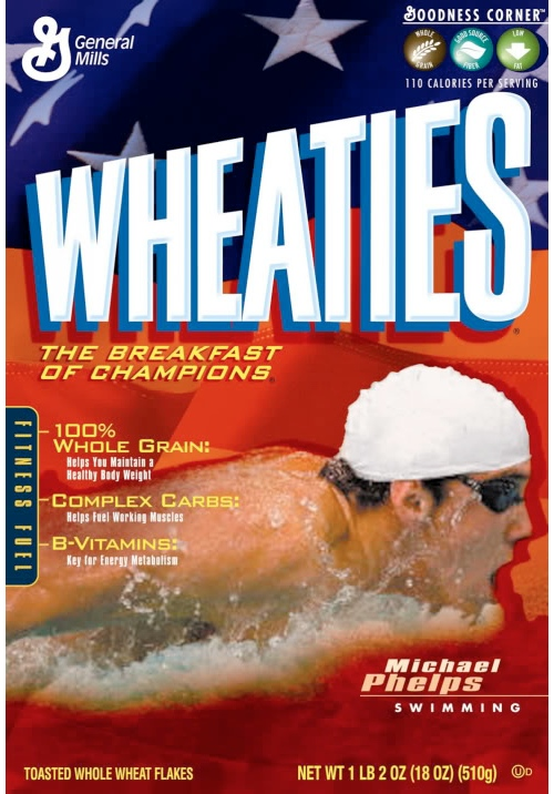 Wheaties phelps