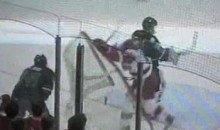 Wisconsin Badger Checks The Net, Gets Costly Penalty For It (Video)