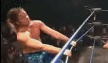 Acrobatic Wrestling (GIF)