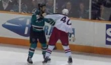 Frozen Fisticuffs Fight Of The Night – Clowe vs. Boll – 11/20/10