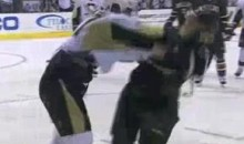 Frozen Fisticuffs Fight Of The Night — Sid The Kid Gets Angry — 11/3/10