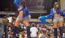 The Booty-Shaking Dominican Baseball Cheerleaders Are A Sight For Sore Eyes (Video)