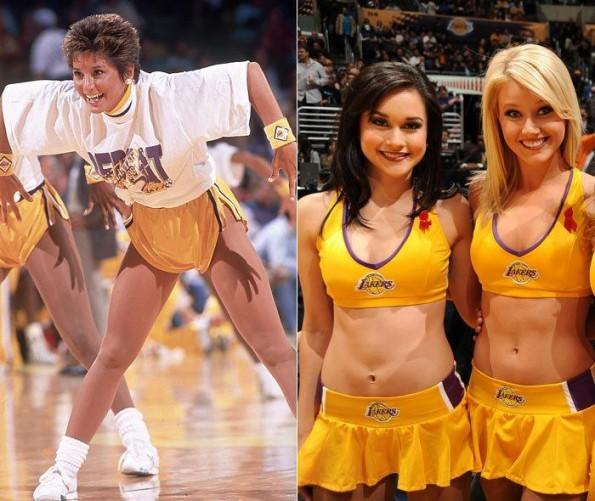 evolution of laker girls