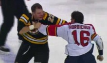 Frozen Fisticuffs Fight Of The Night – Hordichuk and Thornton Provide Us With A Classic – 11/18/10