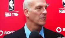 Raptors Coach Jay Triano Drops F-Bomb On Live TV (Video)