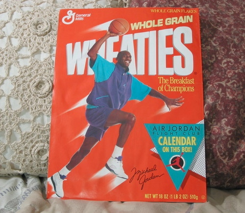 jordan purple wheaties