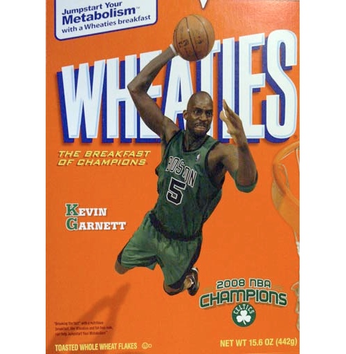kevin garnett wheaties