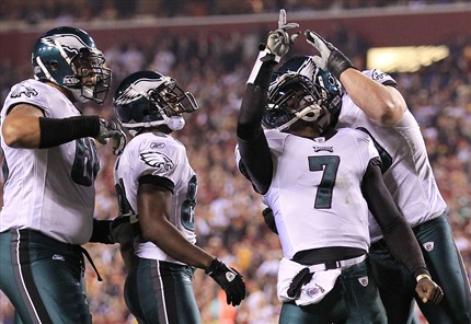 The Stat Line of the Night -- 11 15 10 -- Michael Vick  4b123350a