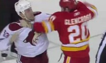 Frozen Fisticuffs Fight Of The Night – Morris Gets Revenge On Glencross – 11/17/10