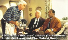 9 Hilarious Athlete Cameos (In Honor of Leslie Nielsen and 'The Naked Gun')