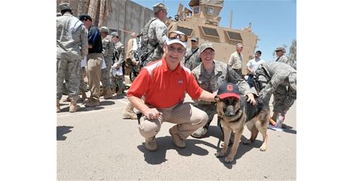 ohio state dog in iraq