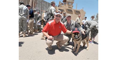 ohio state dog in iraq