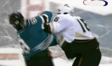 Frozen Fisticuffs Fight Of The Night — Parros Vs. McLaren — 11/9/10