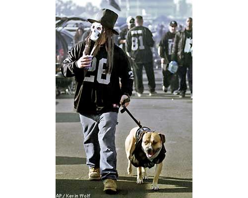 raiders dog ad owner