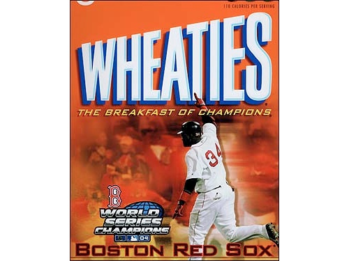 red sox 04 wheaties